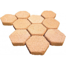 Brightwell Aquatics - Hexagonal Frag Mounts composed of Xport-Ca
