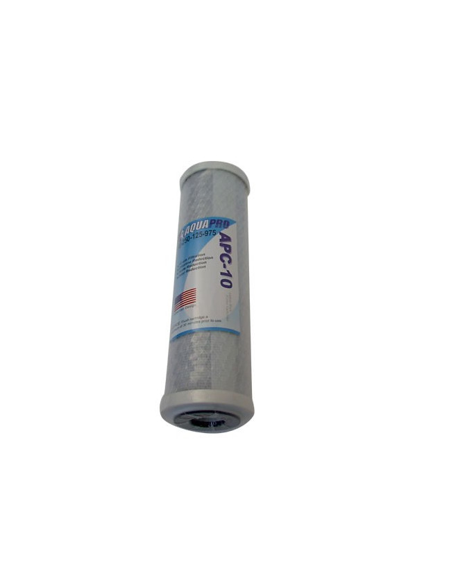 """Ruwal cartridge at 5 Micron Carbon (Carbon Block) for osmosis to Glass 10"""""""