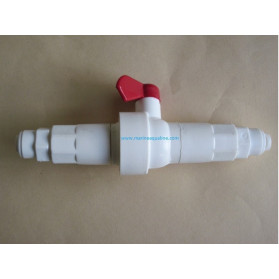 Ruwal reducer with flow flushing valve incorporated membrane 75 GPD