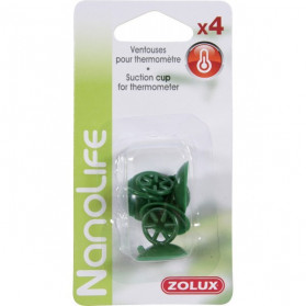Zolux Thermometer Suction Cups x4