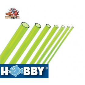 HOBBY Rigid Pipe Green Algae 5mm - 1 meters