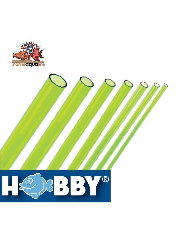 HOBBY Rigid Pipe Green Algae 5mm - 1 meters