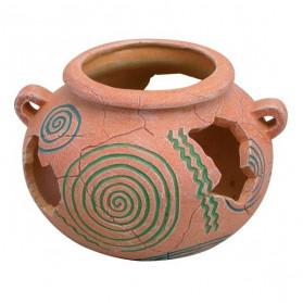 Zolux Vaso Etrusco 16x15x10.5cm