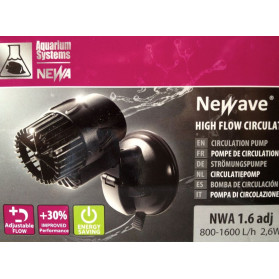 Newa Wave NWA 1.6 adj Pump Flow Movement Adjustable from 800 to 1600 L / H consumption 2.6 watts
