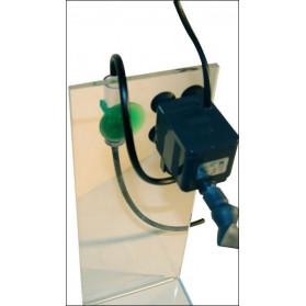 Ruwal Diffusore CO2 Rw Turbo Kit 1 Completo di Pompa Rio 200 e Diffusore con Contabolle - Modello per Acquari fino a 70 cm