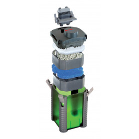 Eheim - 2422 - Filtro Esterno Experience 150 Completo di Materiali Filtranti per acquari di 150 Litri