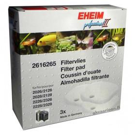 EHEIM 2616265 - Ricambio Spugne Bianche per Filtro Professionel II 2026/2128 e 2226/2328