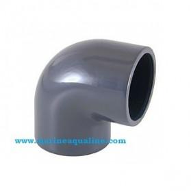Ruwal - PVC Gomito 90° ad incollaggio - Ø 20