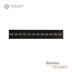 Vertex illumina Serie 360 -1200 - Plafoniera a LED cm120x30x4,5h consumo 384w