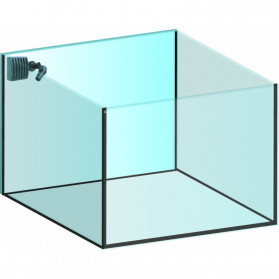 Xaqua Aquarium in extra-clear glass model 45