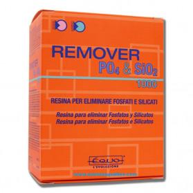 EQUO Remover PO4 & SIO2 1000gr - Resina per eliminare Fosfati e Silicati in Acqua Dolce o Marina Utile per 2000 litri