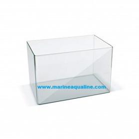 Acquario senza coperchio misura 50X30X30 cm. capienza 45 litri