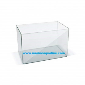 Acquario senza coperchio misura 80x40x40 cm. capienza 128 litri