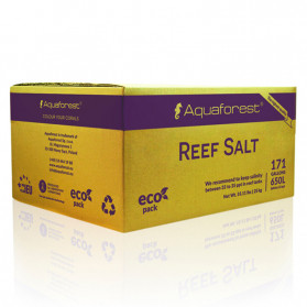 Aquaforest Reef Salt Box cartone 25kg - Sale marino