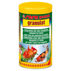 Sera Pond Granulat - 1000ml (Mangime granulare per pesci nel laghetto)