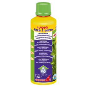 Sera Flore 1 Carbo - 250ml - Integratore di ferro per acquari piantumati