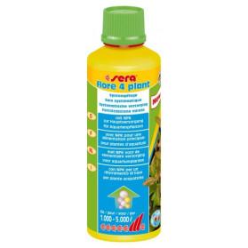 Sera Flore 4 plant 250ml (Fertilizzante per acquari piantumati con pochi pesci)
