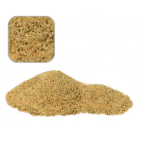 Wave Ghiaia Rosella Fine 5 Kg per Acqua Dolce Granulometria 1/2mm