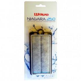 Wave Ricambio Cartuccia Carbone con ovatta per Filtro a Zainetto Niagara 250