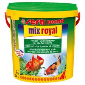 Sera Pond Mix Royal - 10litri (Mangime per Pesci di Laghetto)