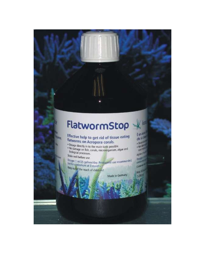 Korallen zucht FlatwormStop 250ml - Protegge i vostri coralli dalle Turbellarie