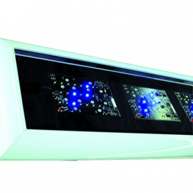 Giesemann Plafoniera a Led Futura-S - 520W Lunghezza 1550mm
