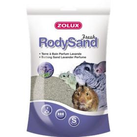 RodySand sabbia alla Lavanda per Cincillà, Gerbilli - 2 Litri