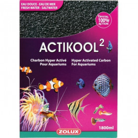 Zolux - ActiKool - 600ml - Carbone Superattivo